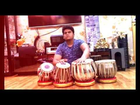 Mere Rashke Qamar tabla cover | ft. Neil Newton | 4k| full video