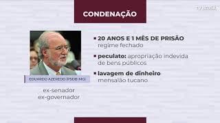 Ex-governador de Minas Eduardo Azeredo se entrega à polícia e é preso