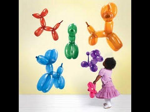 cara membuat boneka dari balon: kerajinan balon
