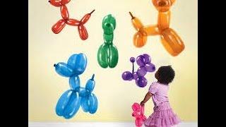 cara membuat boneka dari balon