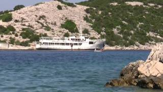 Impressions of rab - a small island in croatia in HD