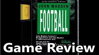 John Madden Football (The Original) Sega Genesis Review - The No Swear Gamer Ep 511