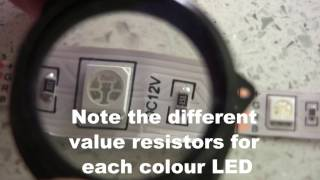 banggood rgb 5050 smd non waterproof 300 led lights strip review