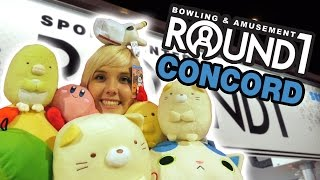 Incredible UFO catcher wins at Round 1 arcade in Concord! | The Crane Couple