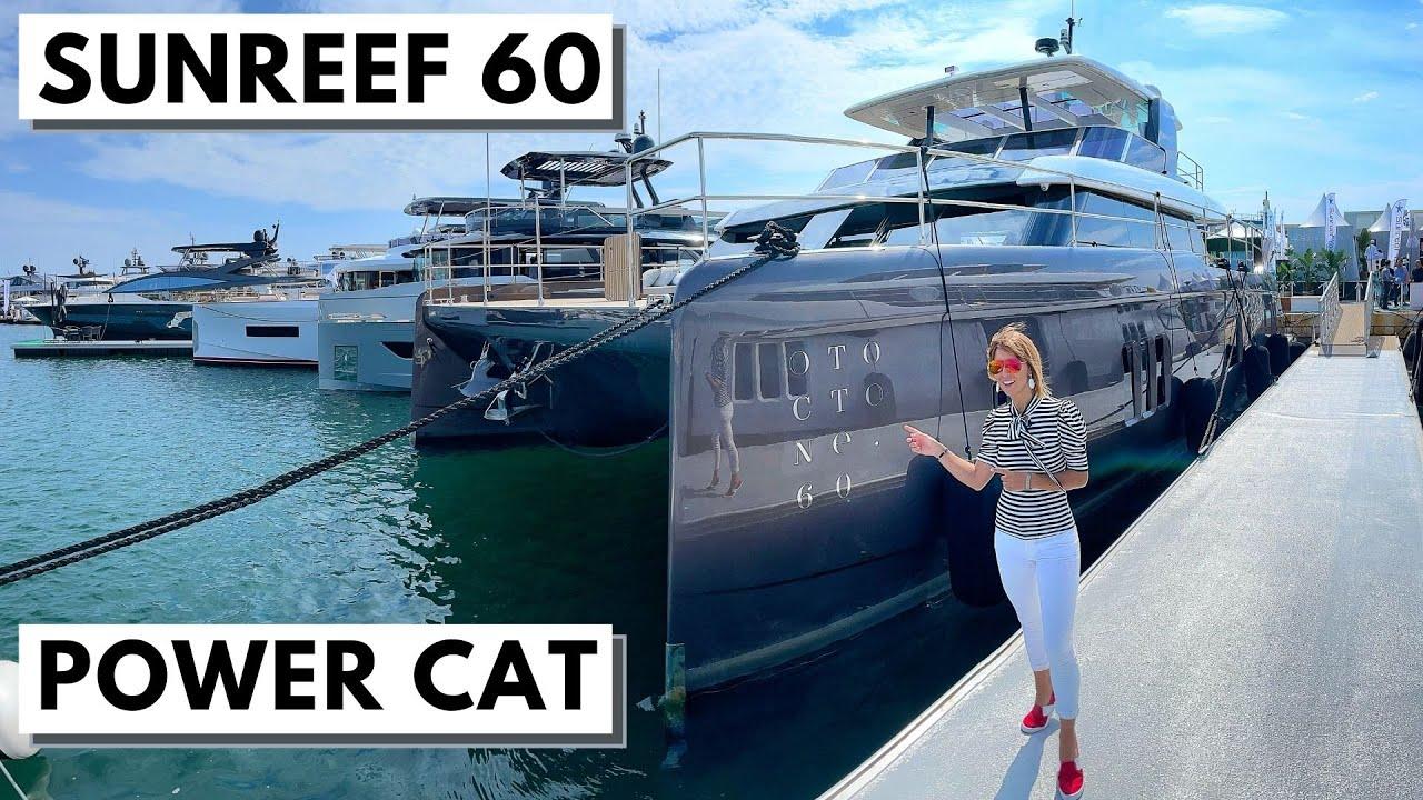 "Download WORLD PREMIERE: 2021 SUNREEF 60 POWER ""Otoctone"" Luxury Catamaran Charter Yacht Tour"