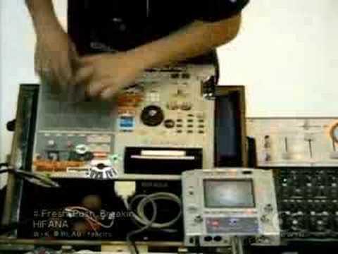 HiFaNa Digital Scratch DJ from Japan