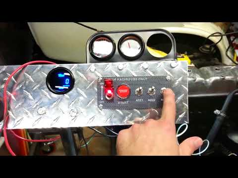 how-to-wire-a-12v-ignition-switch-engine-start-push-button-3-toggle-panel-with-indicator-light