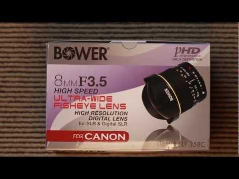 Bower (Samyang) 8mm Fisheye Lens