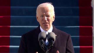 Inauguration Day: il discorso di Joe Biden sul palco del Campidoglio