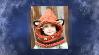 ТОП 10 ДЕТСКИЕ ВЯЗАННЫЕ ШАПОЧКИ. Top 10 Kids knitted hat