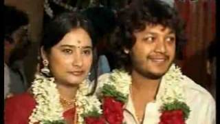 Film actor - comedy-time Golden Star Ganesh weds Shilpa