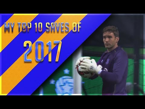 My top 10 saves of 2017!