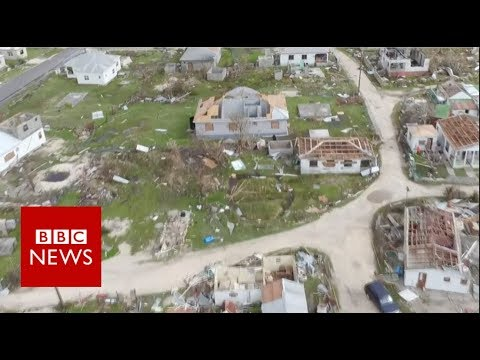 Hurricane Irma: Barbuda, A Caribbean paradise lost - BBC News