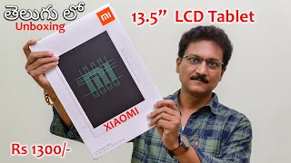 Xiaomi Mi LCD Tablet for only Rs 1300/- Unboxing in Telugu...