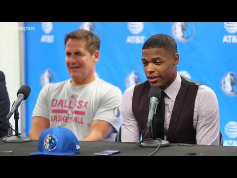 Dallas Mavericks #1 pick Dennis Smith Jr. is in town