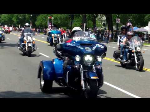 The Rolling Thunder 2018 - On Memorial Day 2018 - Washington DC - 5/27/2018 .