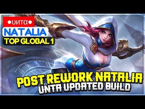 Natalia Post Rework Gameplay, Unta Updated Build [ Top Global 1 Natalia ] ●υитα● Natalia
