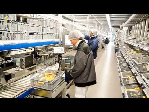 Modernisierung des Logistikzentrums der Bell Schweiz AG