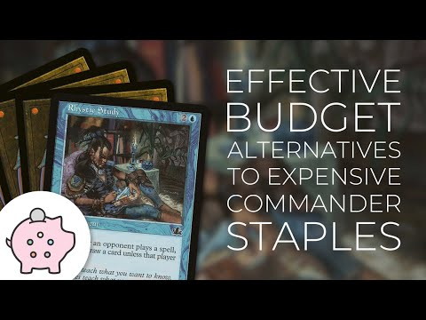 Budget Alternatives to Expensive Commander Staples   Rhystic Study   Path to Exile   EDH   MTG