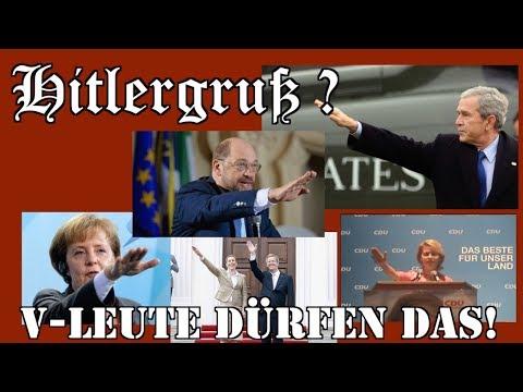 Hitlergruß !?  -  V- Leute dürfen das!