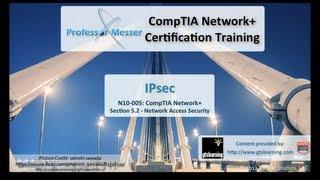 IPsec - CompTIA Network+ N10-005: 5.2