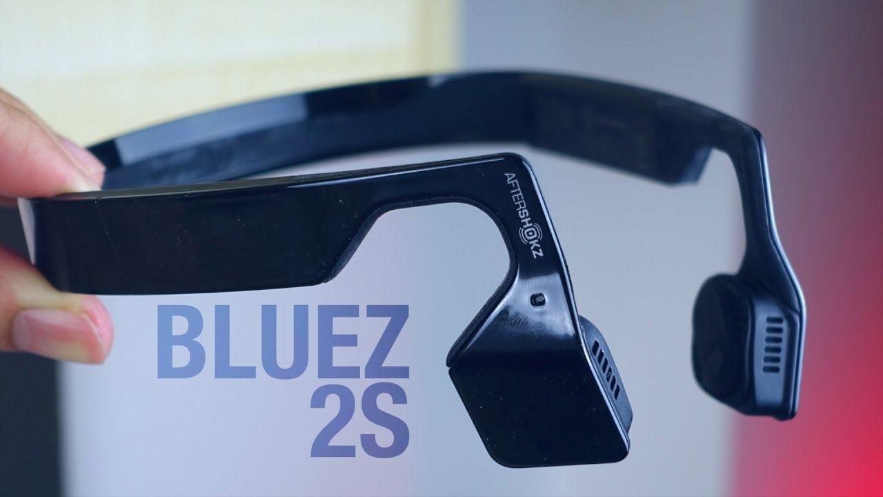 b8cde69441f Aftershokz Bluez 2S Review (Bone Conducting Headphones!) - YouTube