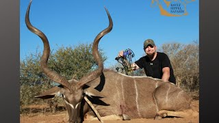 Massive Kudu Smoked with the bow! (Impact Vid)