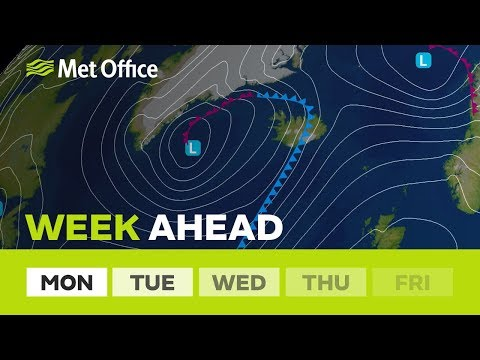 Week ahead – A greater chance of fog and frost.