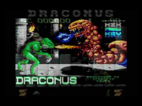 DRACONUS Main Theme (ATARI XE/XL) 8Bit