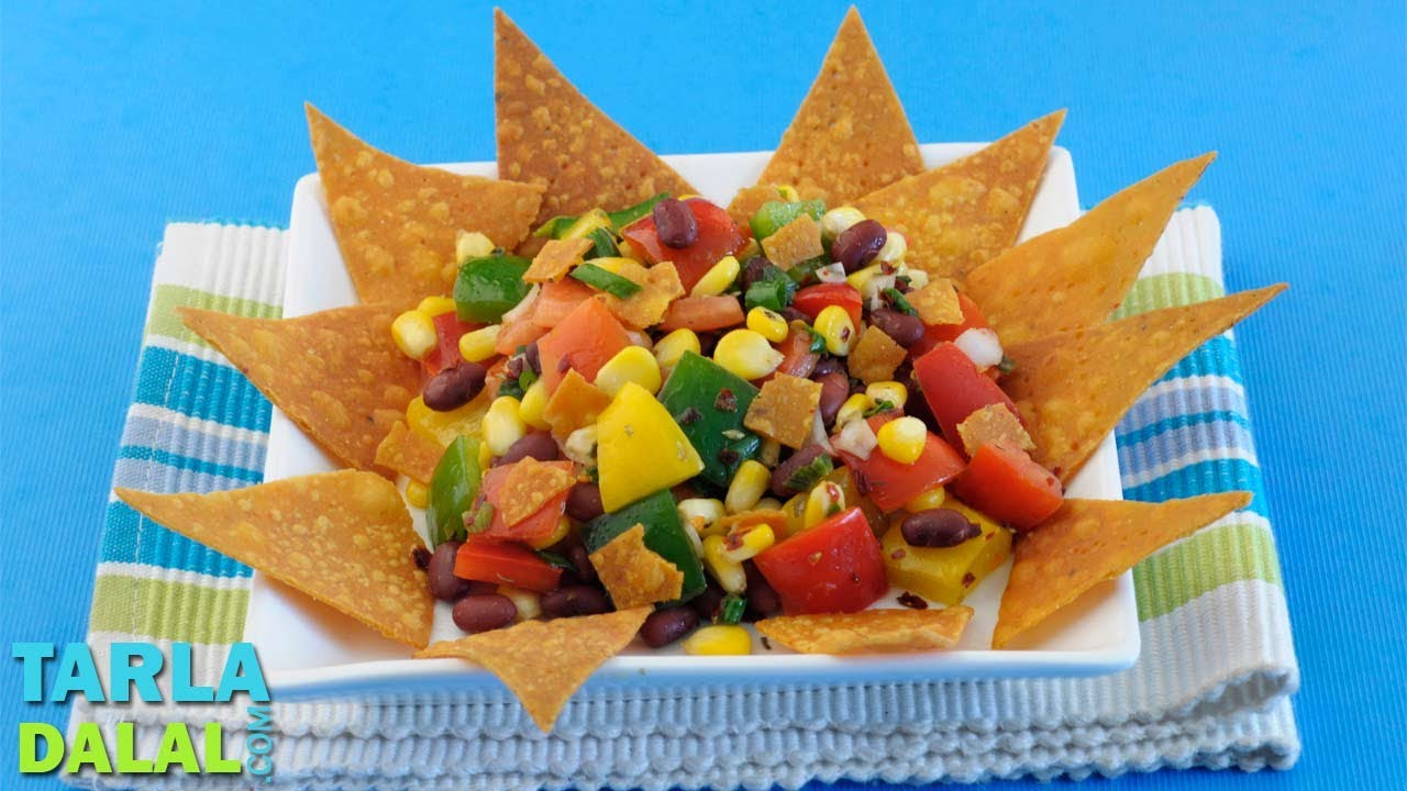 Mexican salad by tarla dalal youtube forumfinder Image collections