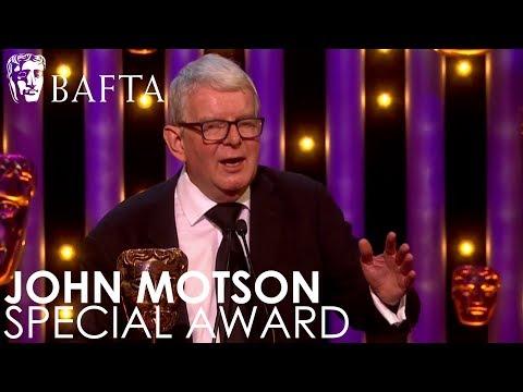 John Motson wins the Special Award  BAFTA TV Awards 2018