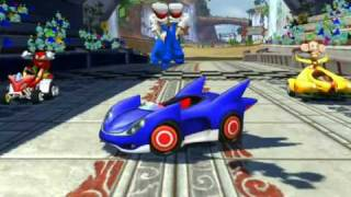 Sonic & Sega All-Stars Racing - Gameplay