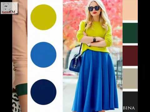 Perfect Color Combinations For Clothes 1