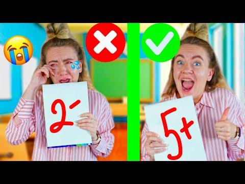 Топ школьных лайфхаков от 5-Minute Craft ! Посмотри перед школой ! BACK TO SCHOOL