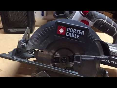 Porter cable cordless circular saw review youtube porter cable cordless circular saw review keyboard keysfo Images