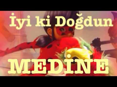 İyi ki Doğdun MEDİNE :)  Komik Doğum günü Mesajı 1. VERSİYON ,DOĞUMGÜNÜ VİDEOSU Made in Turkey :) 🎂