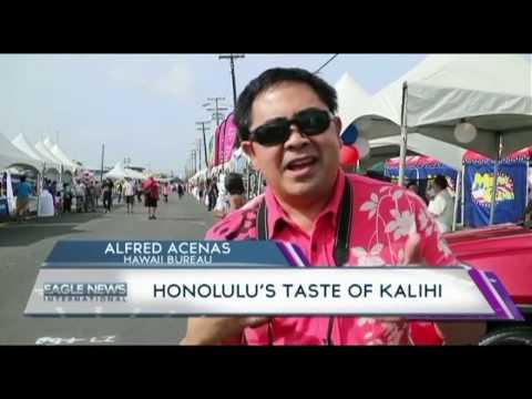 Honolulu's Taste of Kallihi - Alfred Acenas/EBC Hawaii bureau