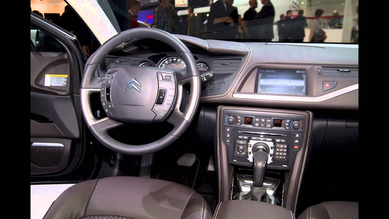 2016 citroen c5 interior youtube. Black Bedroom Furniture Sets. Home Design Ideas