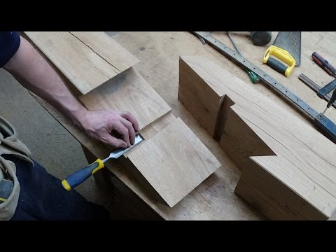 Timber Framing Scarf Joint