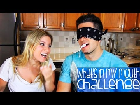 Thumbnail: WHAT'S IN MY MOUTH CHALLENGE