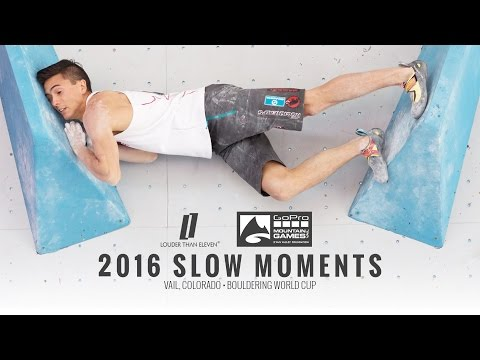 2016 Slow Moments – Vail Colorado Bouldering World Cup