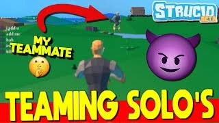 CHEATING In Solo's STRUCID...*CARRIED* (Roblox Fortnite)