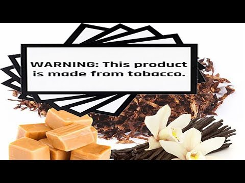 Vanilla Caramel Tobacco | Plus all products contain tobacco!