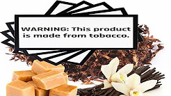 Vanilla Caramel Tobacco | Plus all products contain tobacco!