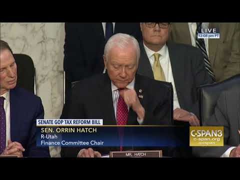 Hatch Finance Committee Opening Statement