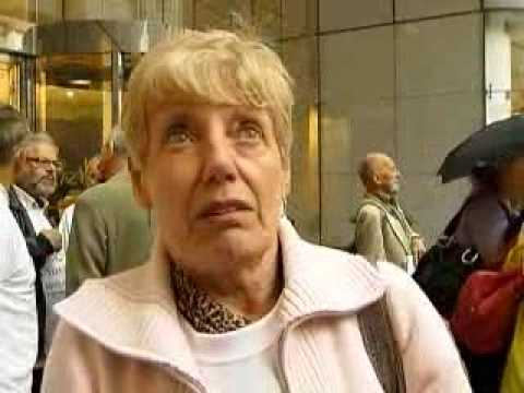 Sept 2009: UK Lehman victims at Financial Services Authority  - First Anniversary