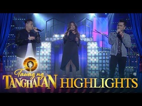 Tawag ng Tanghalan: Mark Michael, Jex and Aila give an outstanding performance