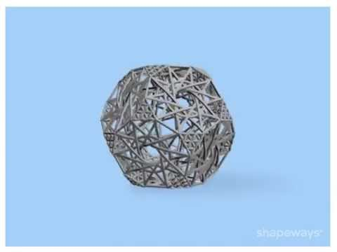 Truncated Hyper-Dodecahedron in rotation