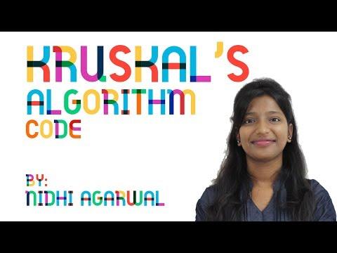 Kruskal's Algorithm Code