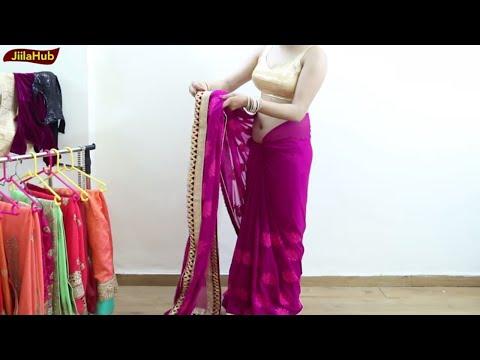 Perfect Saree Drape to Look Like Bollywood Actress | How to Wear Sari as a Bollywood Diva Video